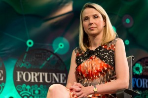 Yahoo CEO Marissa Mayer (Courtesy Fortune Live Media)